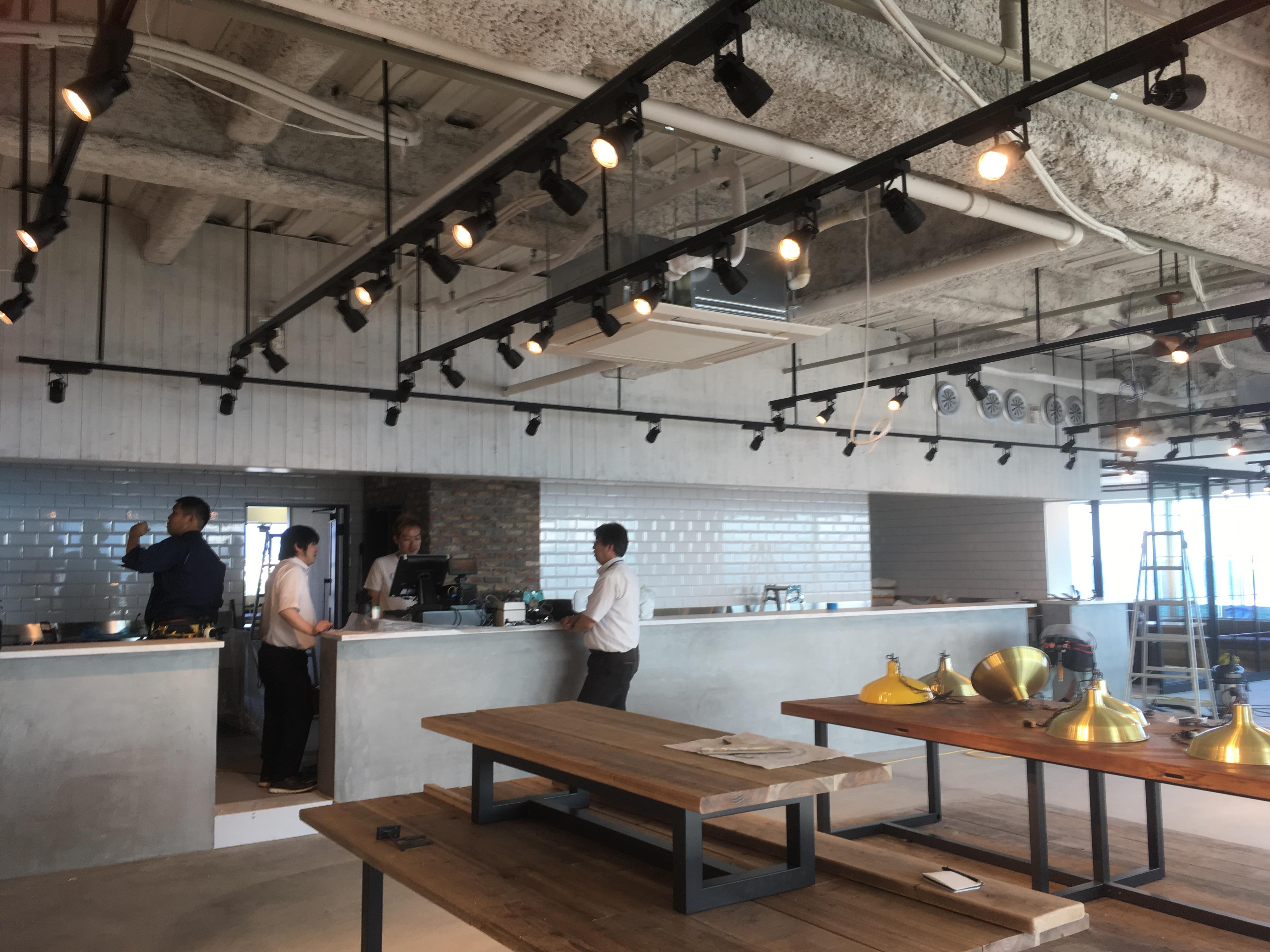 兵庫県神戸市 某飲食店様 空調機新設工事