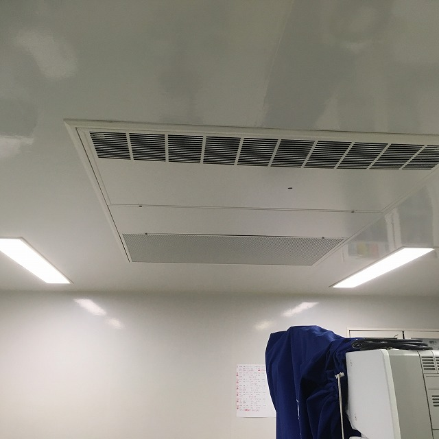 豊岡市 某眼科様 手術室 クリーンエアコン設置
