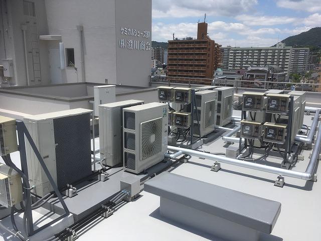 神戸市 某テナントビル様 空調機更新