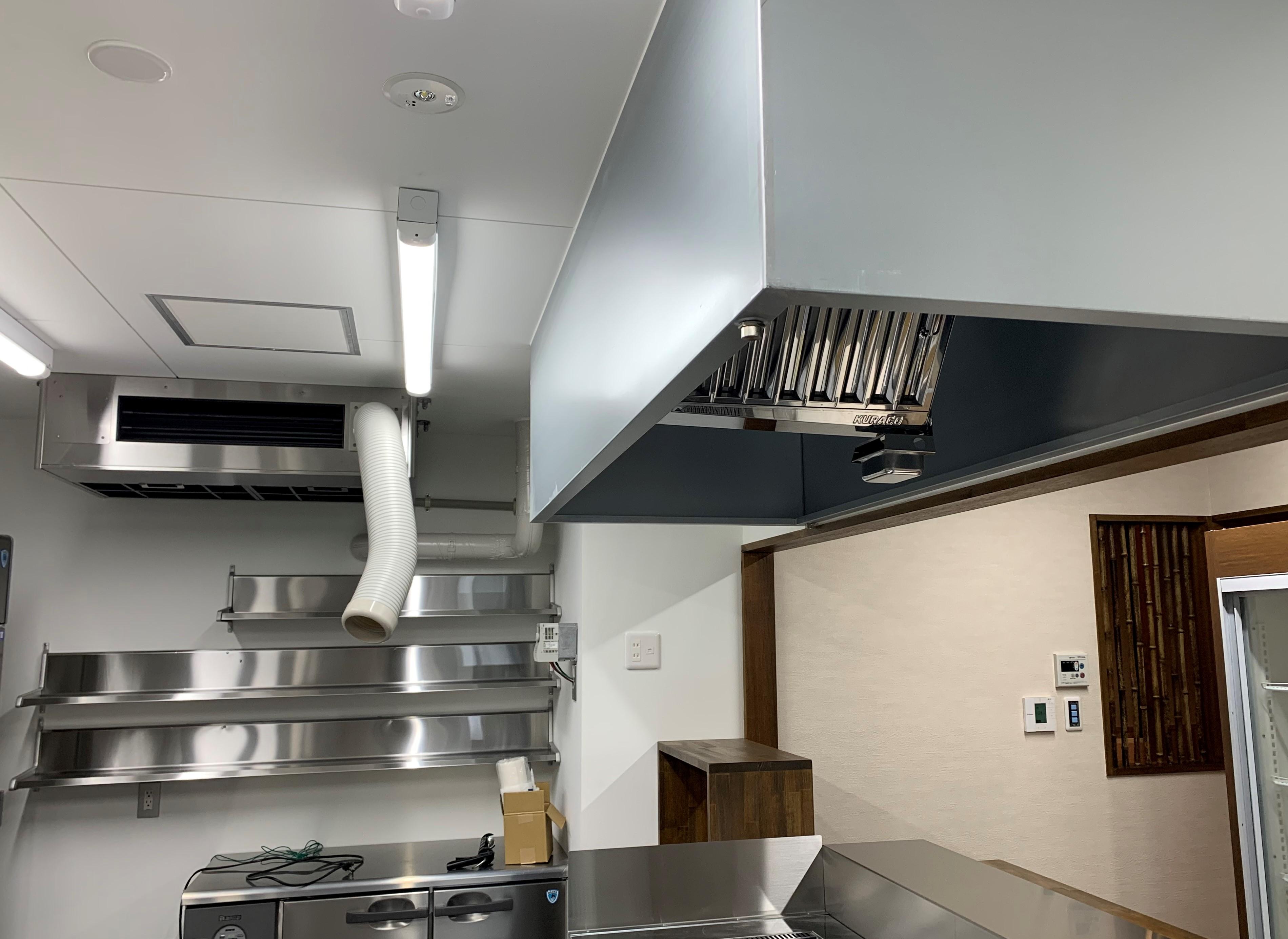 某飲食店空調換気工事