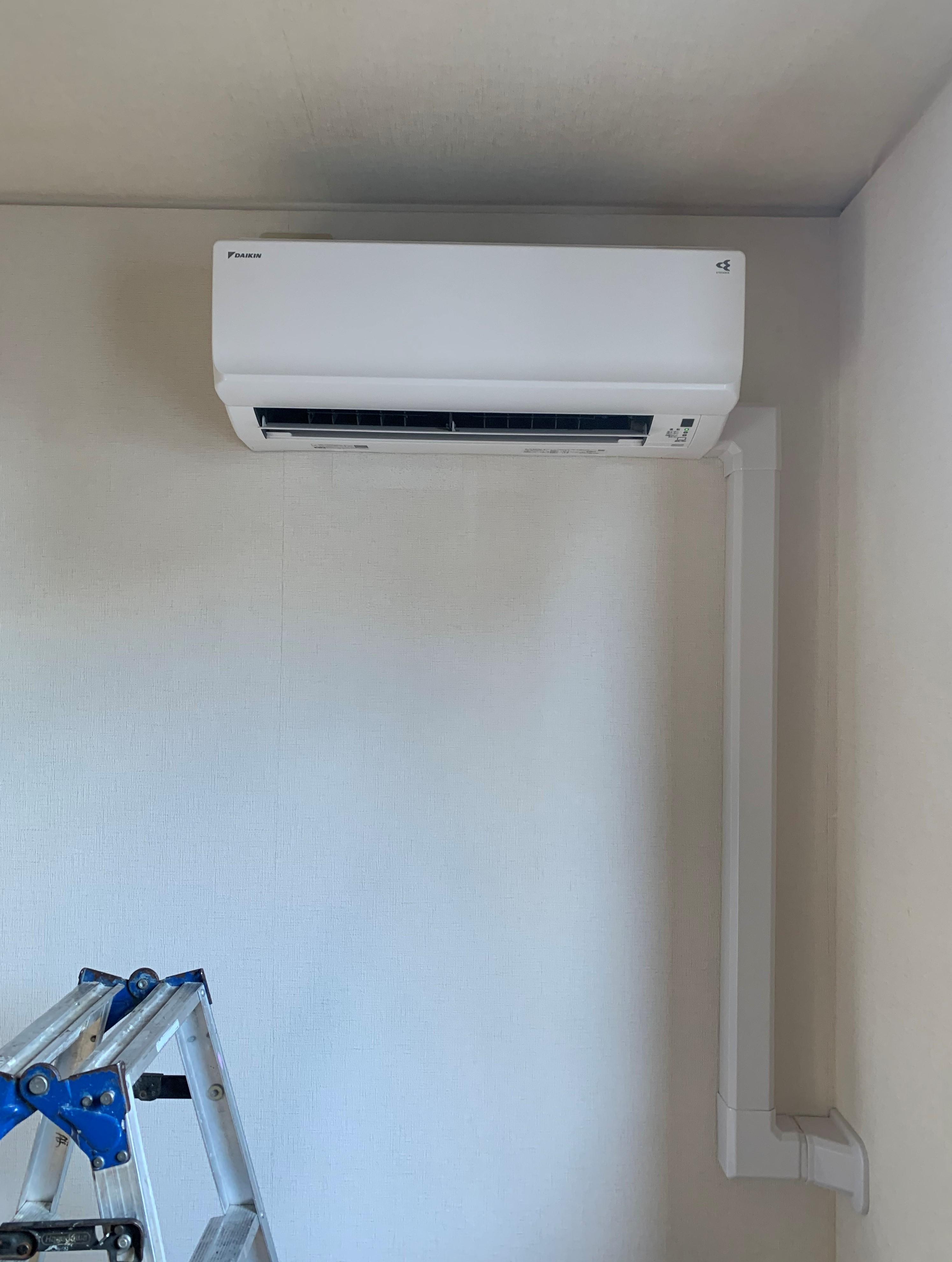 兵庫県神戸市某宅家庭用空調機設置