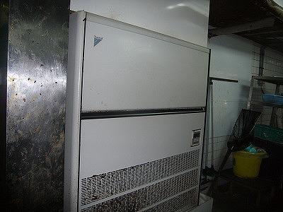 明石市 某飲食店様 空調機洗浄